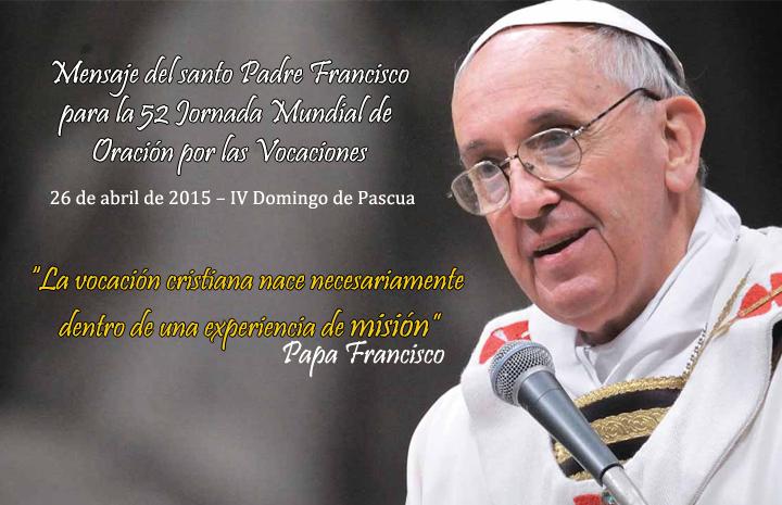 Mensaje Del Papa Francisco Para La Jornada Mundial De