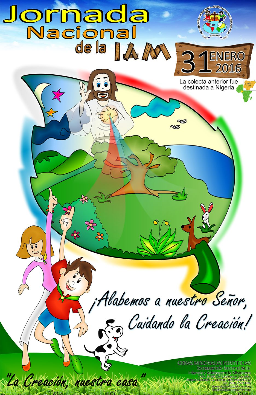 Jornada Nacional de la IAM  2016 - Afiche